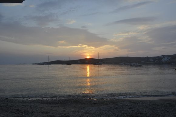 Ah... A sunset in Greece... What could be better?