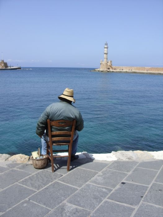 Fisherman, Crete