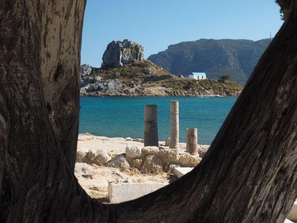 Agios Stefanos beach.