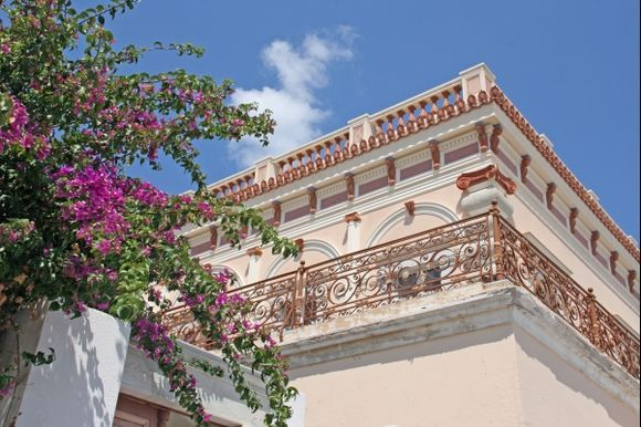 Argyros Mansion in Mesaria