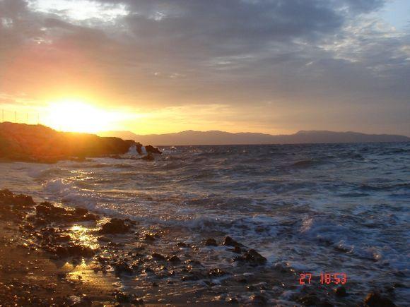 Agistri island, Saronic golf, Greece.