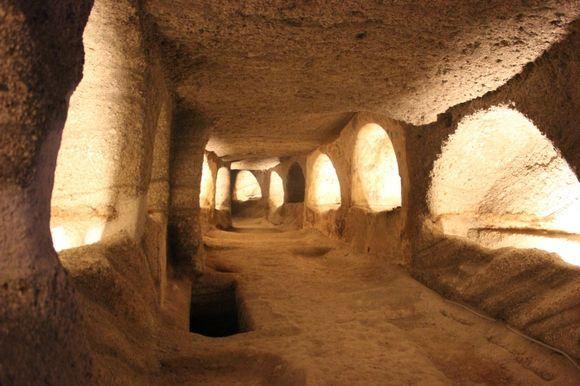 The amazing Catacombs.