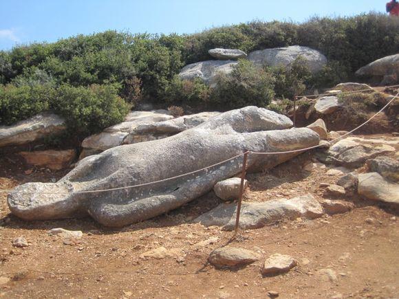 Kouros in Naxos