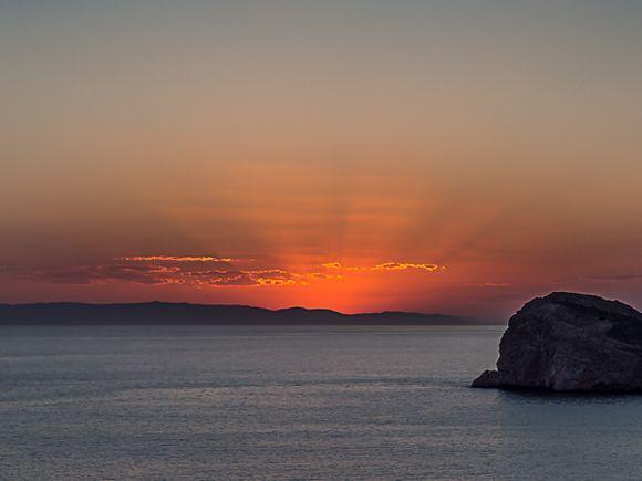 Sunset from Galissas.