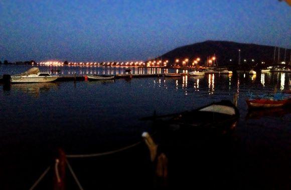 Lefkada town.