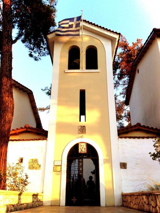 Faneromeni monastery in Lefkada.