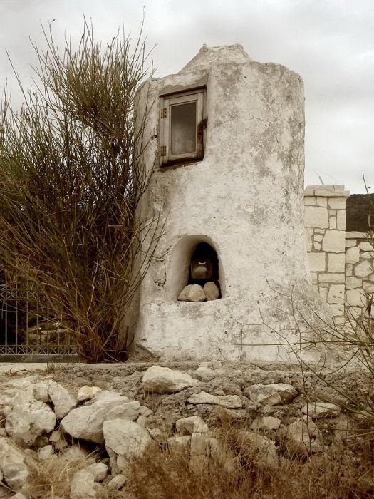 Little small church at Agios Nikitas