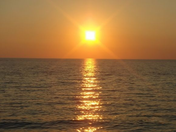 Sunset at Peukoulia