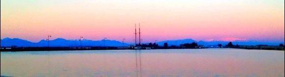 Port of Lefkada.