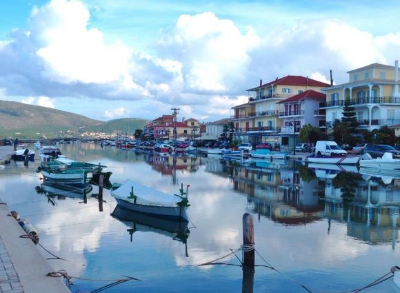 A view from Lefkada town.