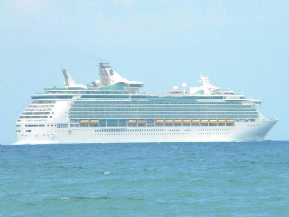 Cruise Ship  Chania, Kiani Akti  Summer 2013