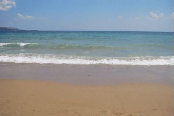 Chania, Kiani Akti  Beach  Summer 2013