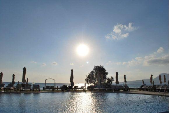 Sun rising   Chania, Kiani Akti  Summer 2013