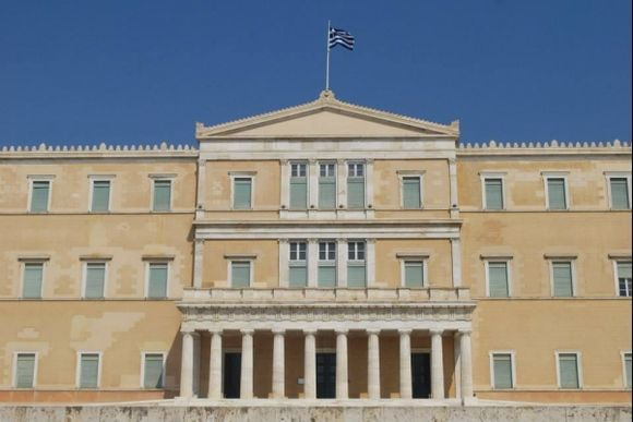 Athens, Syntagma, Greek Parliament  Summer 2013