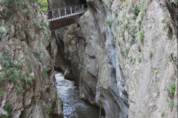 gorge of Vouraikos Kalavryta