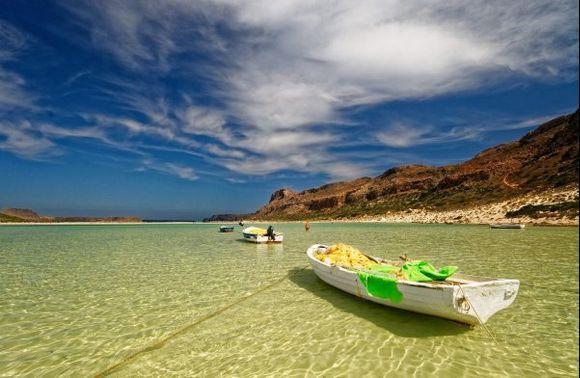 Balos Lagoon is always so beautiful ! 2017/09/25 with polarizing filter.