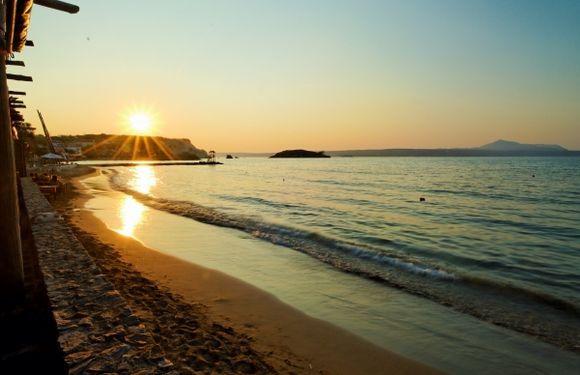 Sunset on Kalyves