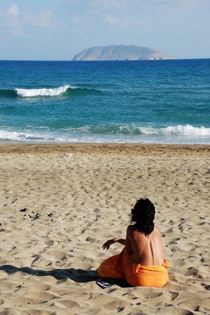 A WOMAN AND THA SEA