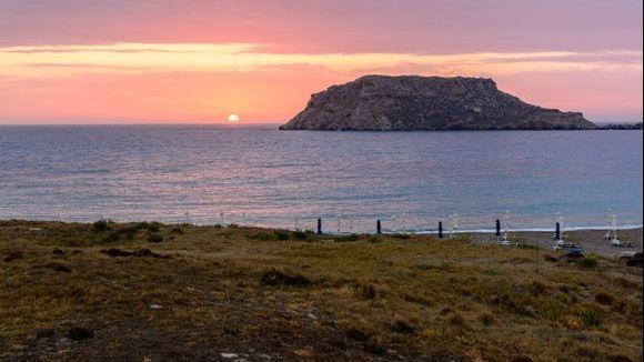 Sunset in Lefkos