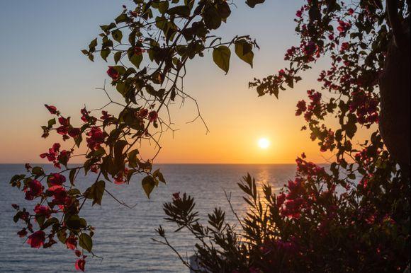 Sunset late september.