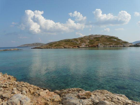 Tiganakia bay 2 - Arki island, east of Patmos