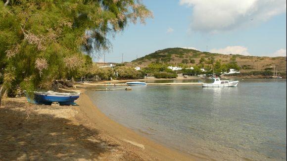 The main beach of Marathi islet - east of Patmos island - Dodecanissos