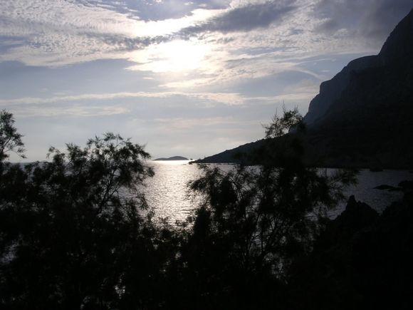 Sunset at Telendos