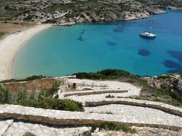 Donoussa Kendros beach