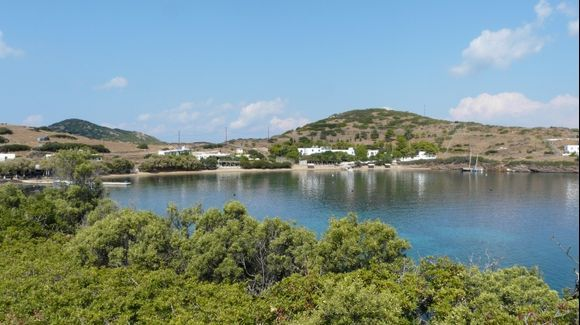 The main beach of Marathi islet - 2 - east of Patmos island - Dodecanissos