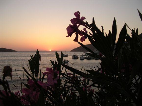 Sunset in Katapola
