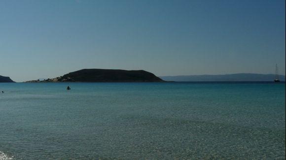 Sarakiniko bay and Cape Elena