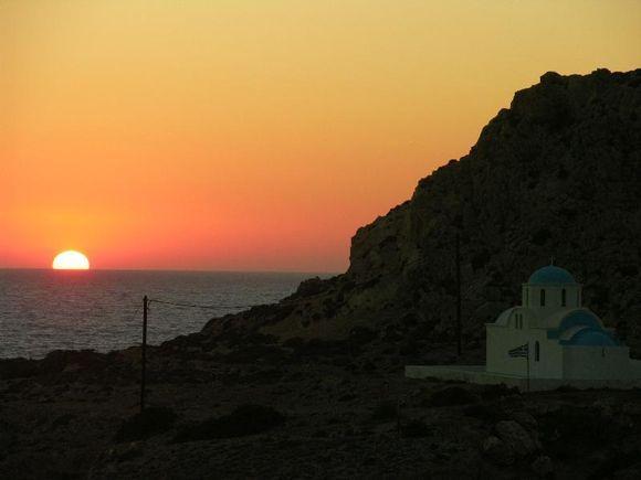 Sunset in Finiki - Karpathos