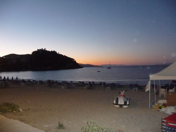 Early start in Parga