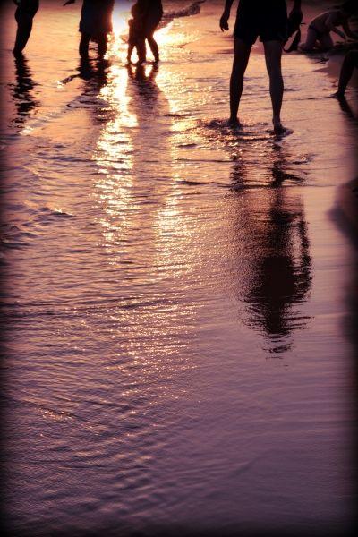 Glyfada, Sunset