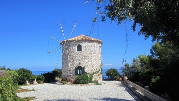 The second windmill of Potamitis