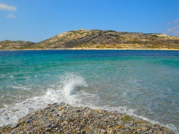 The beach of Agios Pavlos