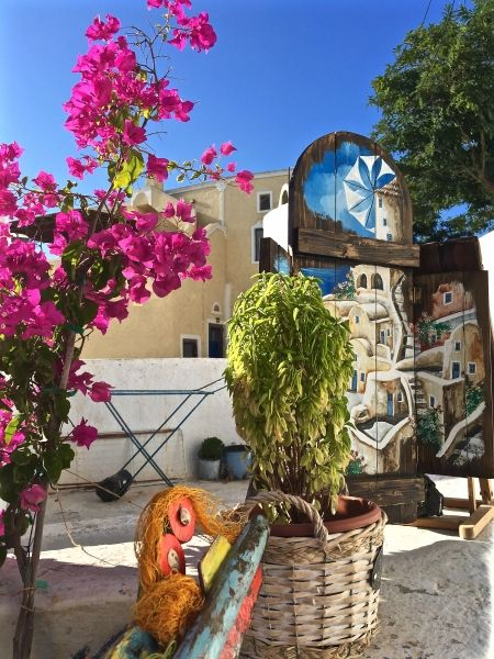 Colours in Pyrgos