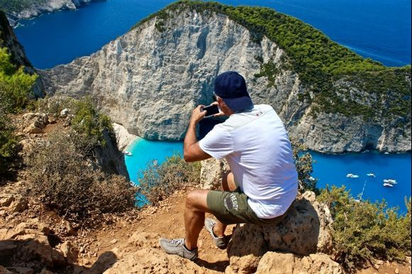 Photographing Navagio