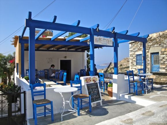 A very lovely kafeneio in Panagia
