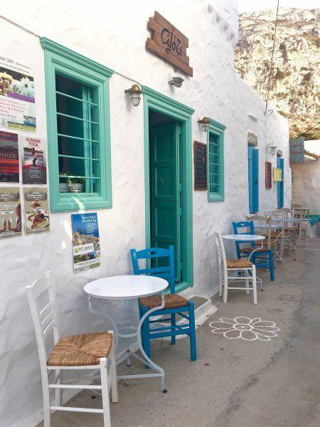 Kafeneio in Lagada