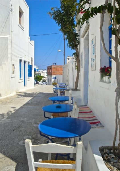 Cycladic corner