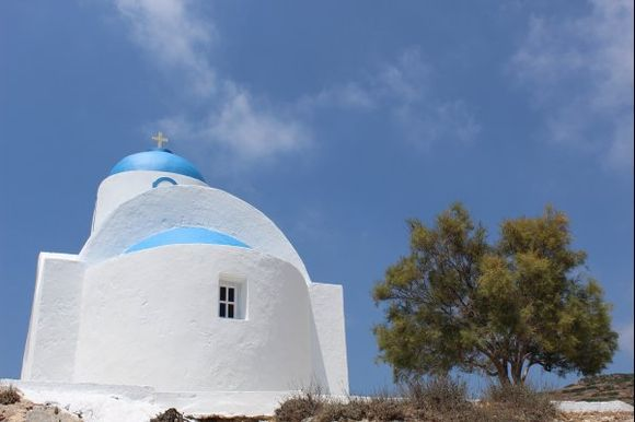 Church of Agios Panteleimonas, near Katapola