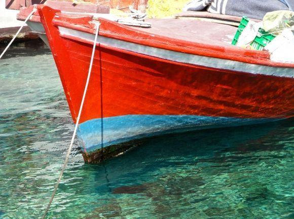 In Halki port