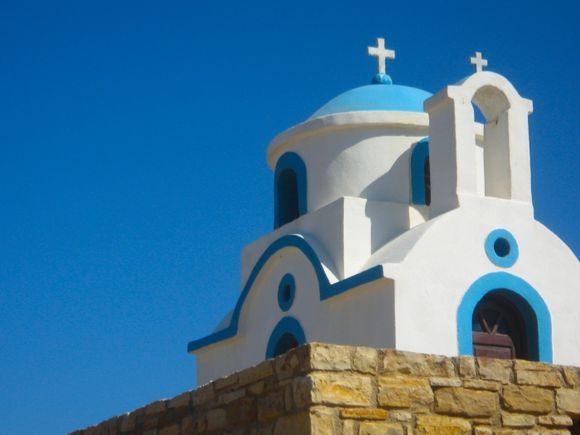 Church near Tourkoumima beach