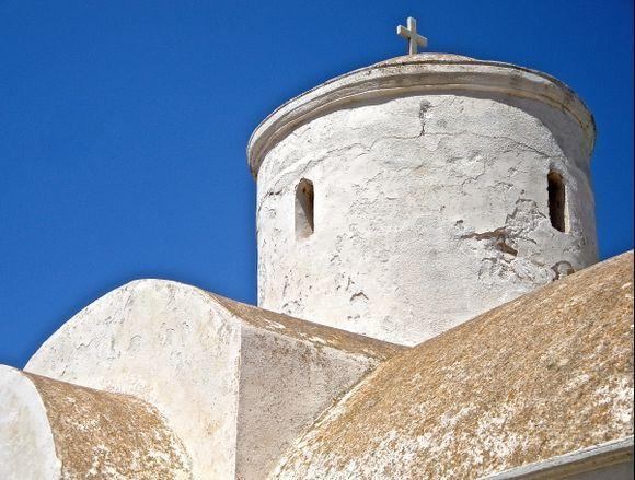 Church on Alimia Islet