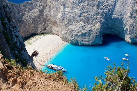 Looking at the abyss... astonishing Navagio