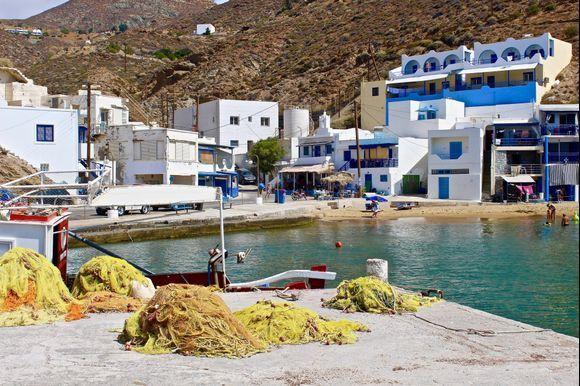 The little harbour of Agios Nikolaos