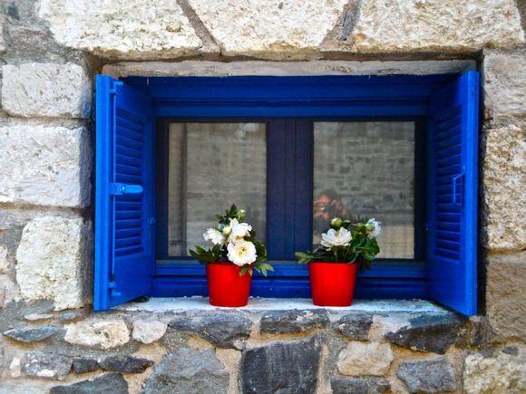 Window in Mandraki