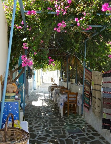 Nice little alley in Telendos