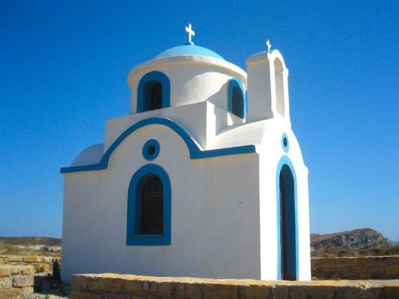 Little church near Tourkoumima beach